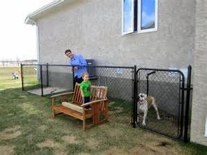 Awesome Backyards For Kids The Dog Run Again Outnumbered