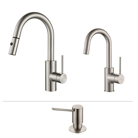 kitchen faucet placement kitchen faucet soap dispenser kraus oletto single handle pull down kitchen faucet and