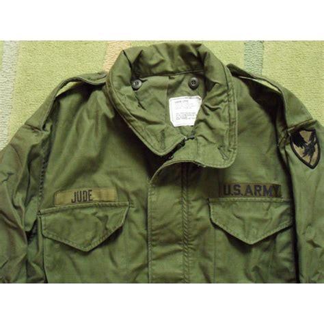 Kaos Bigsize Army 107 us army air m65 field jacket large reg reforger