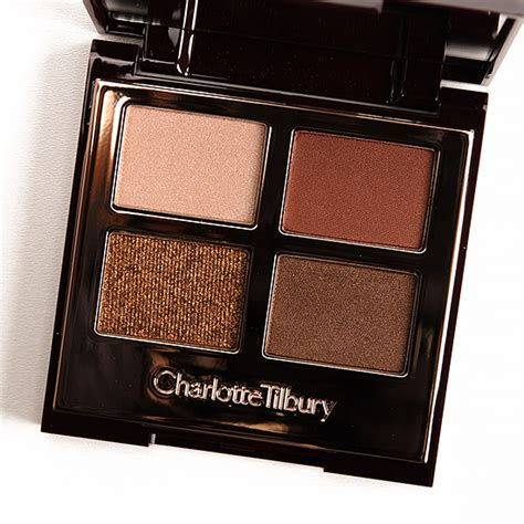 Eyeshadow Quads For Brown tilbury the dolce vita eyeshadow review photos swatches