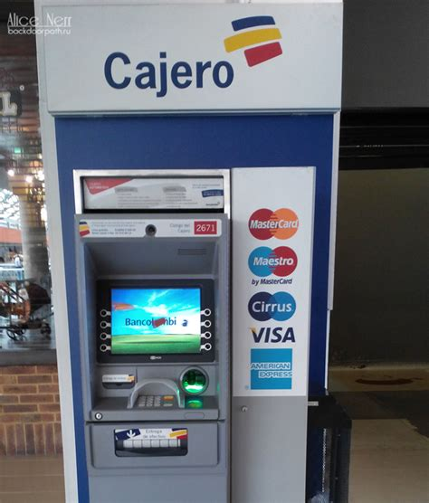 Visa Gift Card At Atm - 2017 update exchanging money and avoiding counterfeits in colombia
