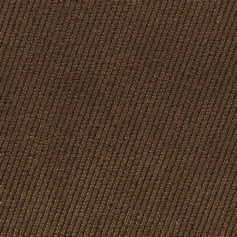 Denim Upholstery Fabric Coffee Brown Plain Denim Upholstery Fabric