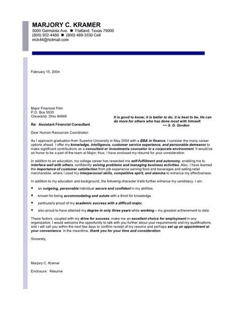 finance entry level cover letter samples templates