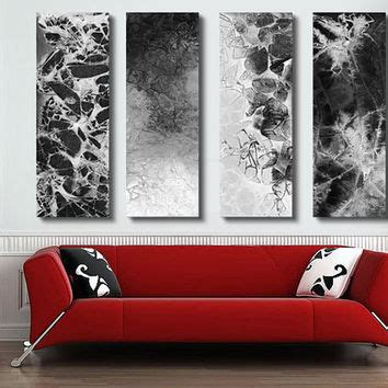 Modern Art For Home Decor by Shop Black And White Abstract Artwork On Wanelo