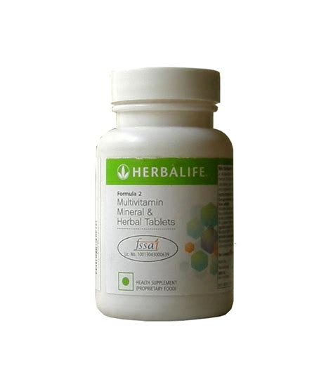 herbal multistamin herbalife multivitamin mineral and herbal tablets formula