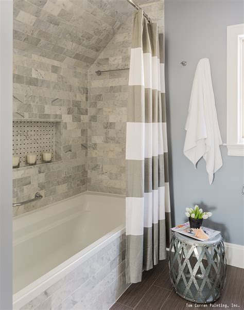 bathroom tile remodel ideas a gorgeous bathroom remodel with a tile shower white trim
