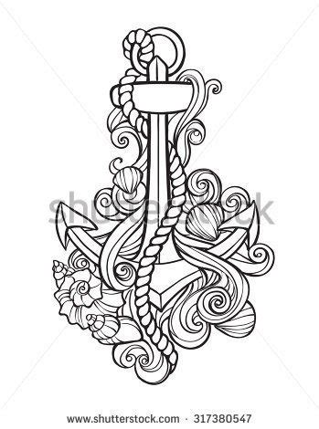 anchors away tattoo clipart anchors away pencil and in color