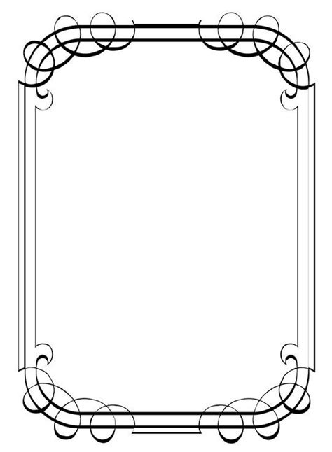 card border template 13 best border designs images on border design