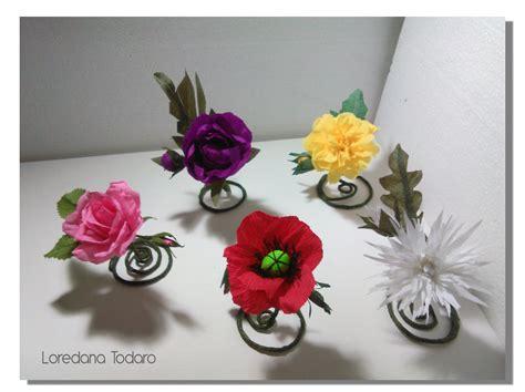fiori con la carta crespa matrimonio con fiori di carta giganti loredana todaro