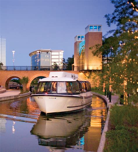 woodlands boat ride the woodlands waterway cruiser the woodlands tx