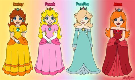 Mario Princess Characters Names Www Pixshark Com