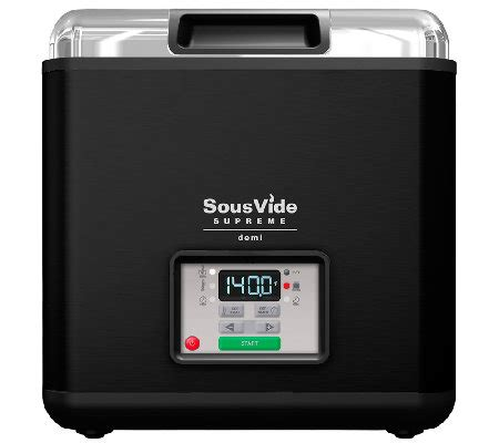 sous vide supreme demi sous vide supreme demi 9 liter water oven page 1 qvc