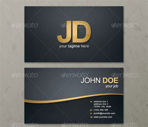 personal business card templates 45 high quality personal business card templates
