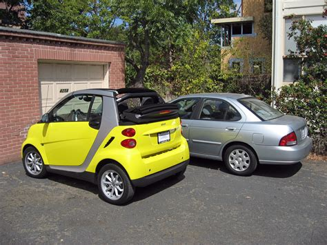 what is the length of a smart car the driver s door on sentra it half length of a compact car