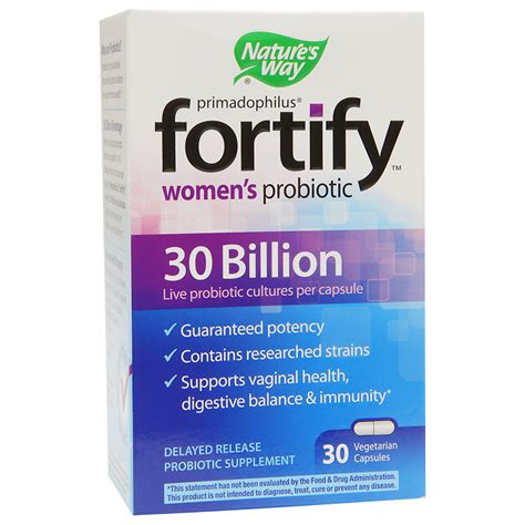 Sale Cap Womancaps Bpom Supplement nature s way primadophilus fortify s probiotic 30 billion vegetarian capsules walgreens
