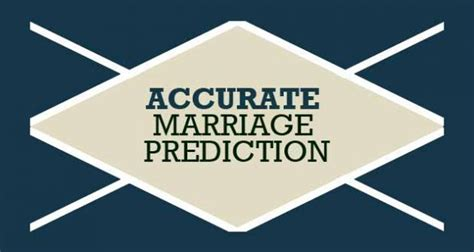 marriage prediction prediction by date of birth