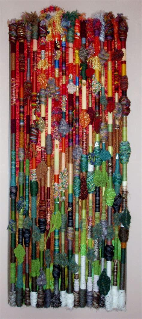 hanging textile wall art