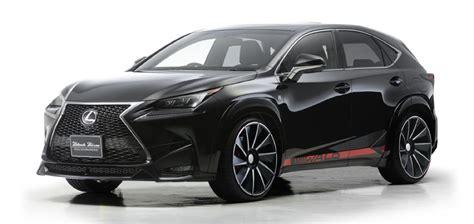 lexus black nx tuningcars wald lexus nx revealed in full