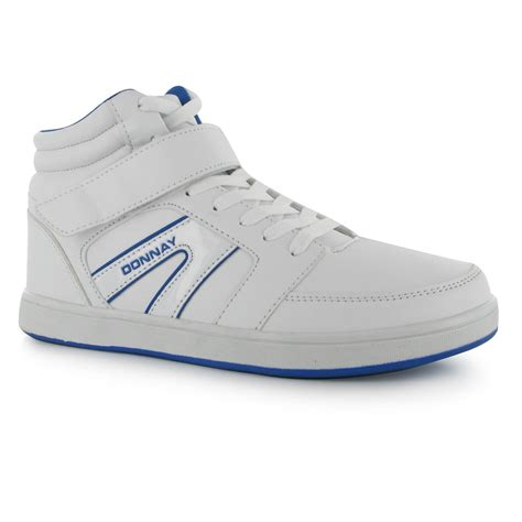 Ready Ads Sport Shoes Sz 35 Only donnay mens all out hi top basketball trainers lace up sports shoes footwear ebay