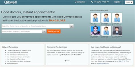 bookmyshow shimoga doctor appointment booking site qikwell raises 3m from