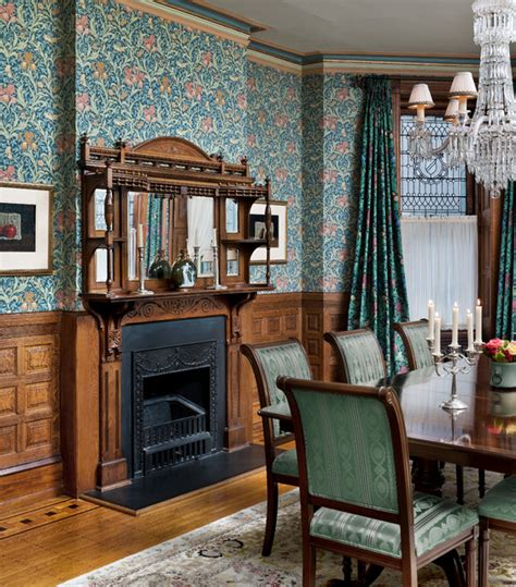 victorian heirloom traditional dining room