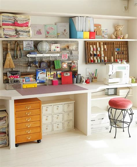 craft room shelving ideas 24 creative craft room storage ideas hearthandmadeuk
