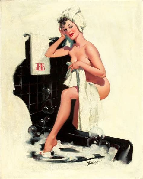 pin up girl in bathtub pin up girl getting in bath tub metal personalised art