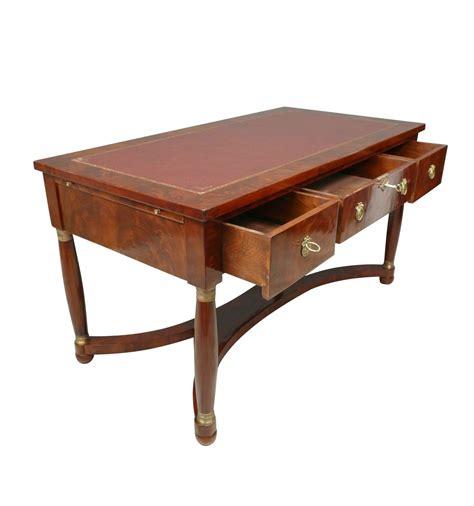 scrivania mogano scrivania impero mogano mobili in stile