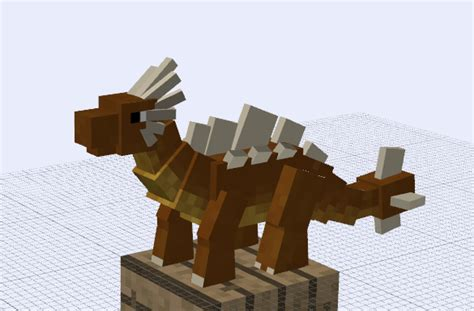 3d Block 6 Side Zoo Animal A earth minecraft techne model by zed harmonia on