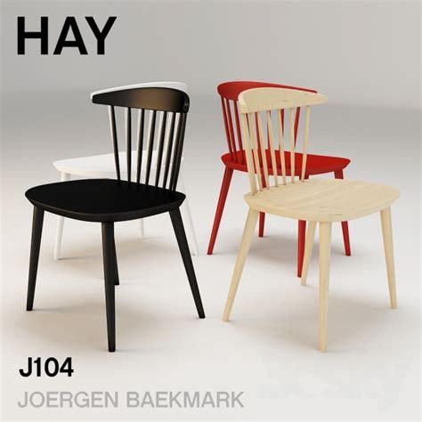 hay j104 3d models chair hay j104