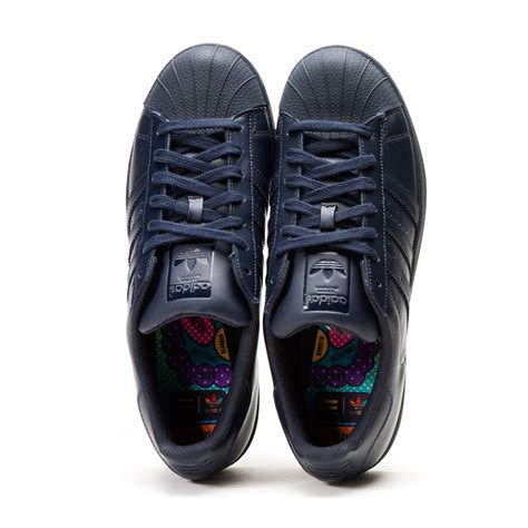 Sepatu Adidas Superstar Supercolor adidas x pharrell williams superstar quot supercolor pack quot navy