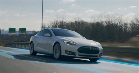 Self Driving Car Tesla Tesla Announces Fully Self Driving Cars Cbs News