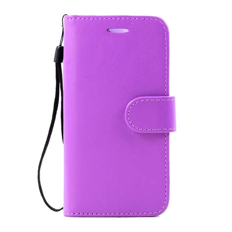 Iphone 7 7s Plus Flip Wallet Leather Casing Cover Book Dompet wholesale iphone 7 plus folio flip leather wallet with purple