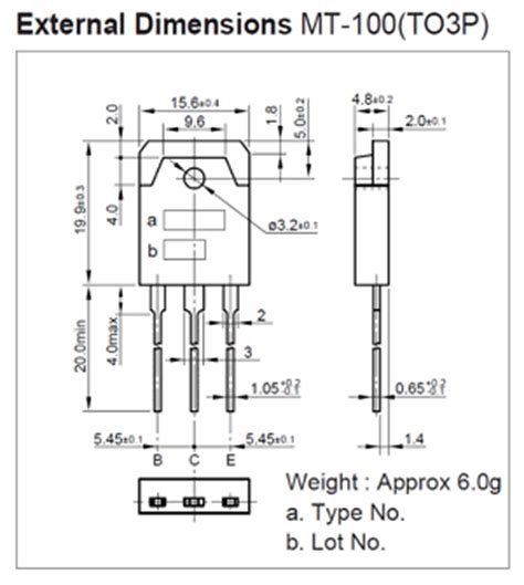 transistor fp1016 datasheet fp1016 pinout 160v 8a 700w 65mhz transistor sanken