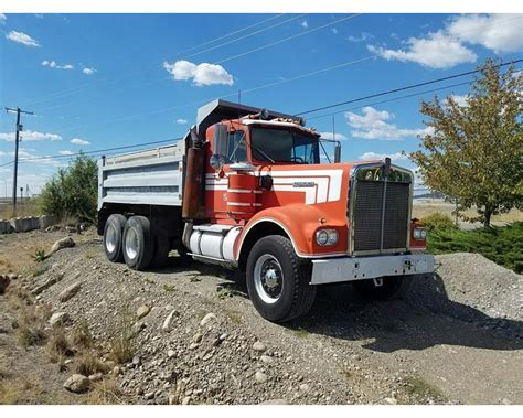 kenworth w900 heavy spec for sale 1970 kenworth w900 heavy duty dump truck for sale
