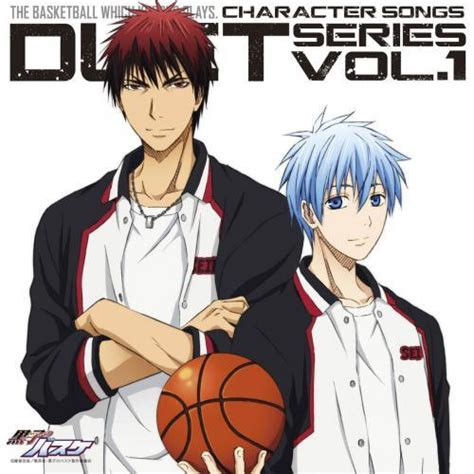 the duet volume 1 books キャラクターソング tv 黒子のバスケ キャラクターソング duet series vol 1 黒子テツヤ cv