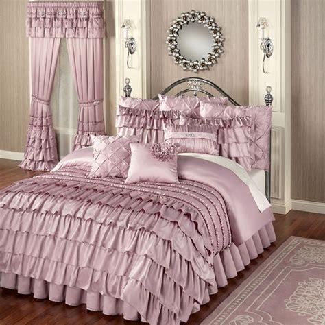 ruffled comforter set best 25 ruffled comforter ideas on pinterest white
