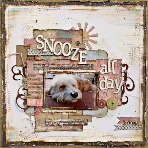 scrapbook layout ideas for pets 253 best images about pet scrapbooking on pinterest