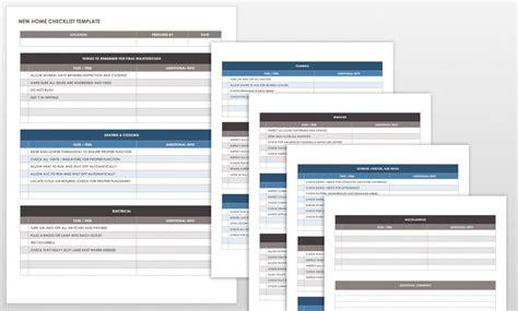 Final Walk Through Checklist Template Templates Data Walk Through Checklist Template