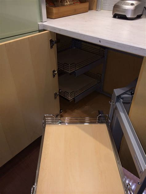 blind corner kitchen cabinet solutions blind corner cabinet solution for the home pinterest