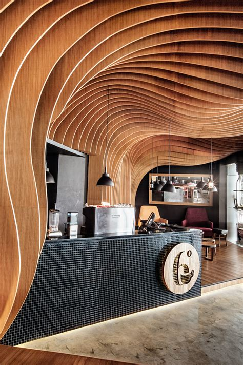 degrees in interior design six degrees cafe by oozn design