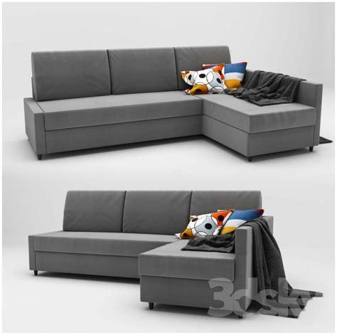 Ikea Friheten 3d models sofa ikea friheten