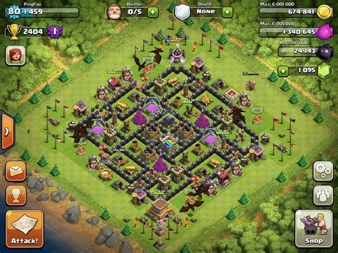 clash of clans best th 8 trophyclan war base th8 4 clash of clans th 8 trophy base car interior design