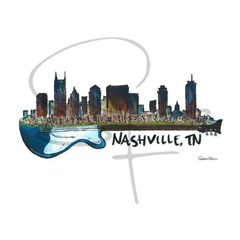 watercolor tattoo nashville tn 25 best ideas about nashville skyline on