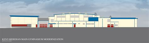 facility construction kent meridian addition building plan facility construction km gym remodel elevations