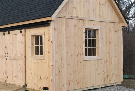 Vertical Shiplap Siding by Vermont Custom Sheds Options And Upgrades