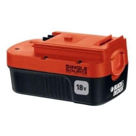 black and decker battery charger 18v black and decker 18v battery single source ebay
