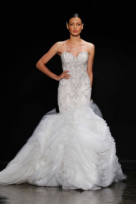 lazaro wedding dresses 2014 3400 wedding dress by lazaro 2014 bridal onewed