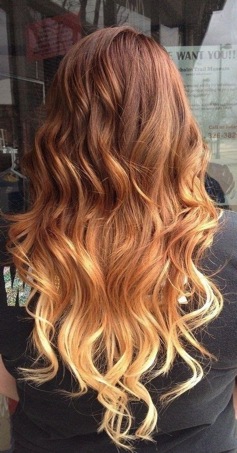 red  blonde ombre hair pictures   images