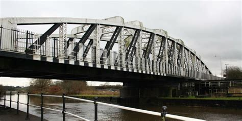 swinging in hshire 163 1 5 million repair project starts on acton swing bridge